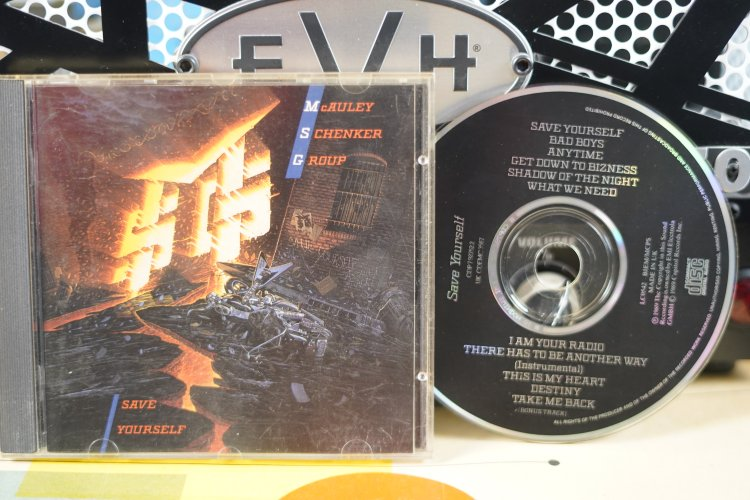 Mc Auley Schenker Group  -  Save Yourself   CDP 7927522 Made in Germany 1989