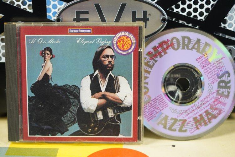 Al Di Meola  -  Elegant Gypsy   468213-2   Made in Austria  1977