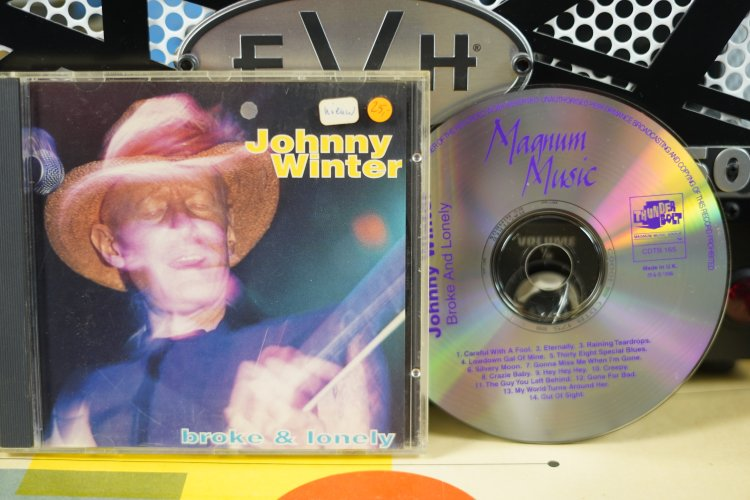 Johnny Winter  -  Broke and Lonely   CDTB165   Made in UK 1996