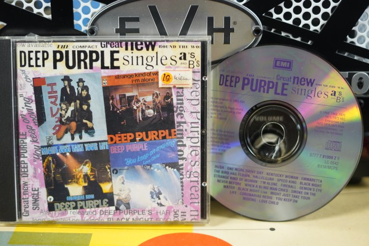 Deep purple - Great  New Singles 7 810092  Made in England 1993