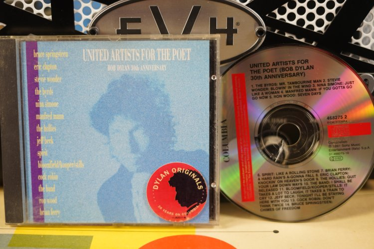 United Artist For the Poet Bob Dylan 30th Anniversary    468275 2 made in Italy 1991