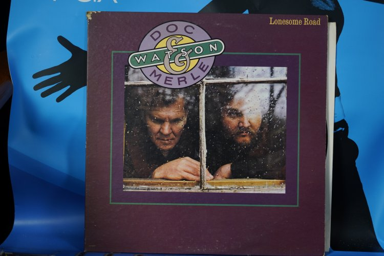 Doc  and Merle Watson     Lonesome Road  LN 10027.  1977