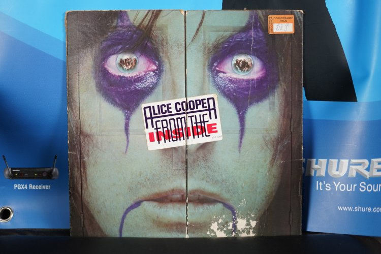 Alice Cooper   From The Inside WB 56577  Warner Bros Records 1978
