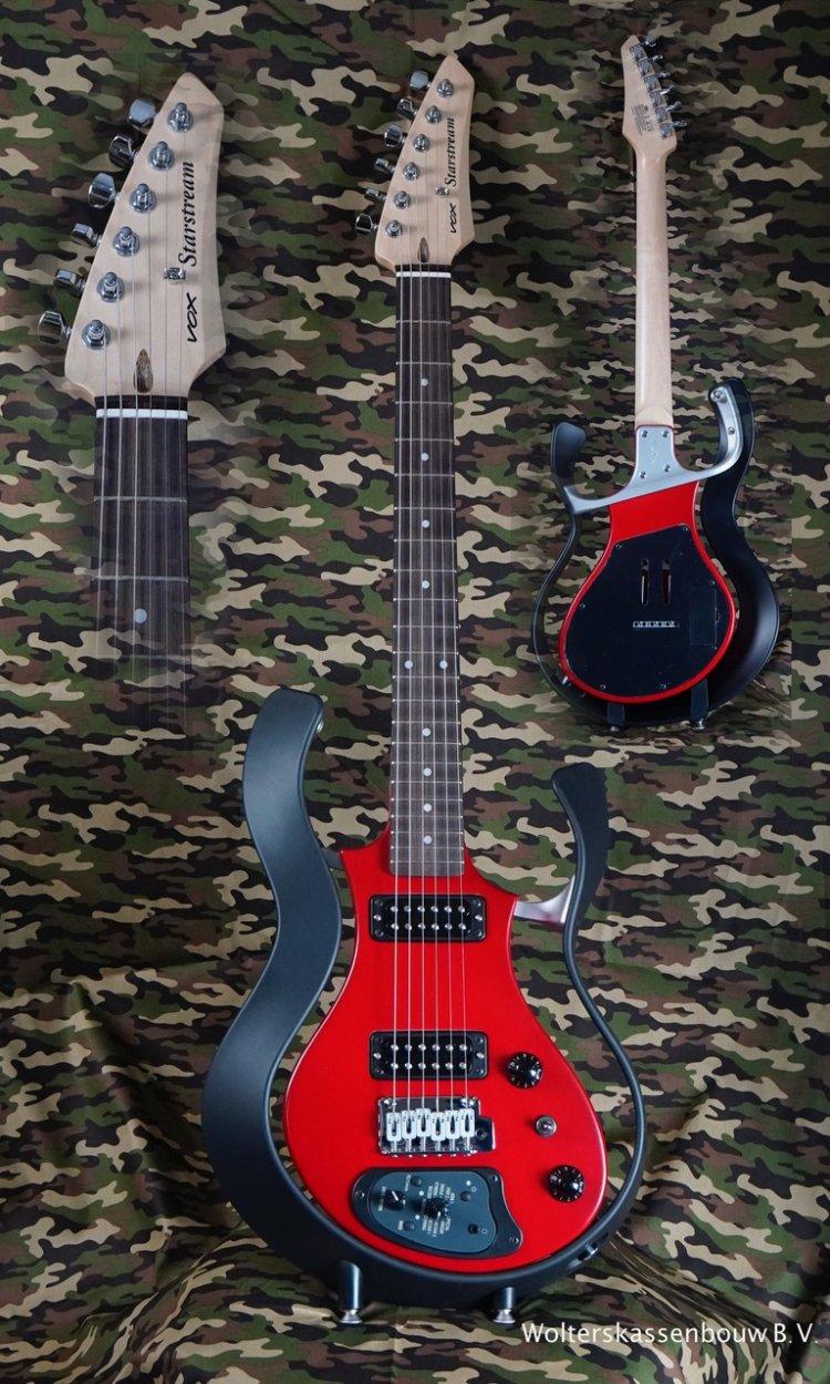 Vox Starstream VSS1-F Modeling guitar Black/Red