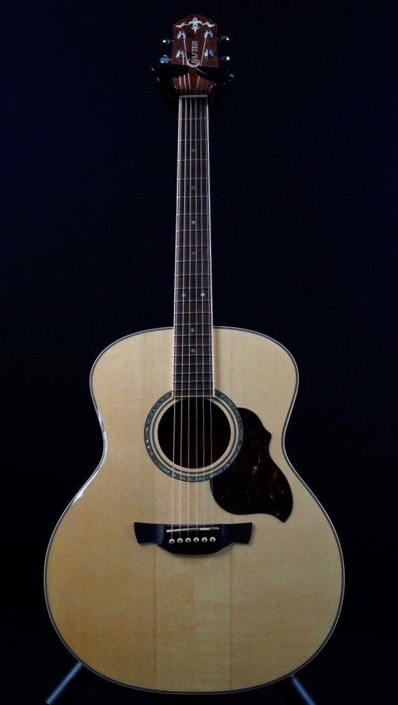 Crafter GA8 Vintage Sunburst Grand Auditorium  akoestische western gitaar