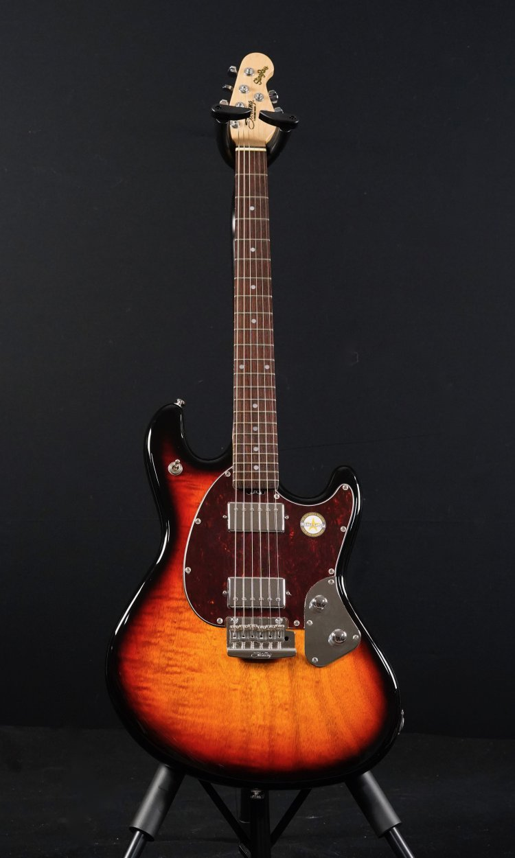 Sterling SR50 by Musicman StingRay 3Tone Sunburst