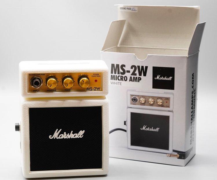 Marshall MS-2W Micro Amp White