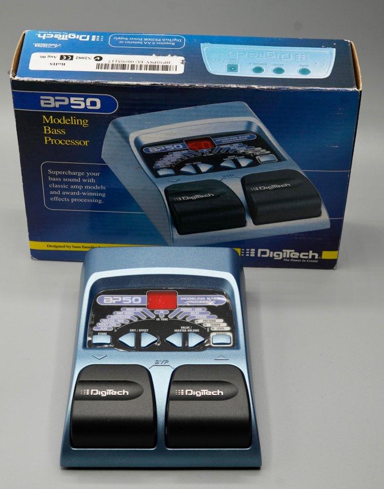 DigiTech BP50 Bass Processor (zonder adapt)