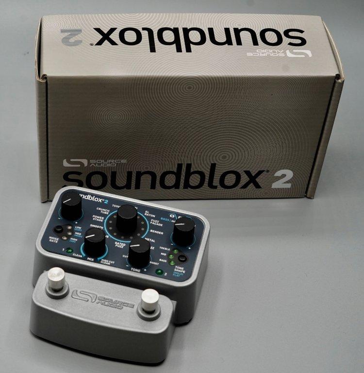 Source Audio Soundblox Bass Micro Modeler SA228
