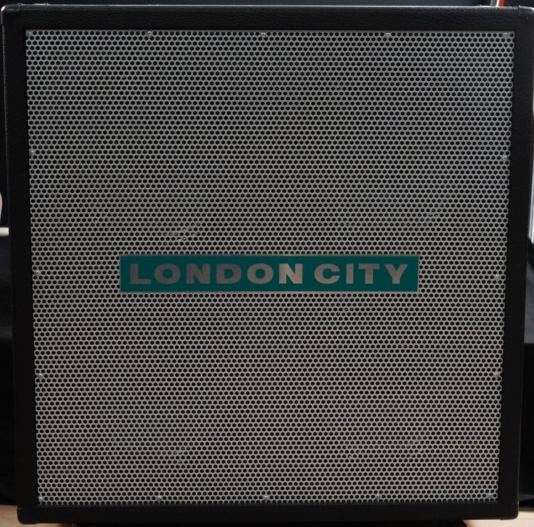 London City 4x12 Cabinet Zwart