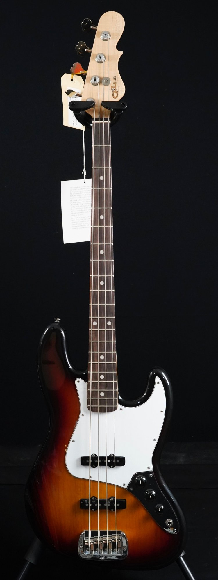 G&L USA JB Fullerton DeLuxe Bass limited
