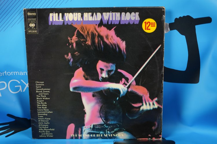 Fill Your Head With Rock Label: CBS – SPR 39/40