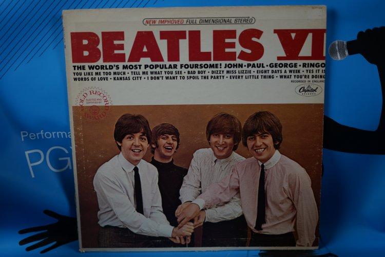 The Beatles    Beatles VI Stereo Album Capitol ST 2358 Stereo in Original Shrink