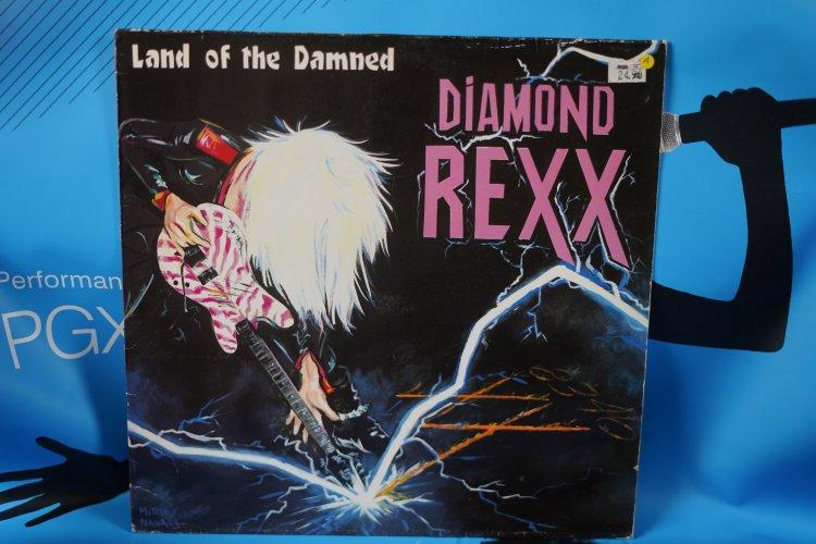 Diamond Rex land of the damned 1986 Island records 208165