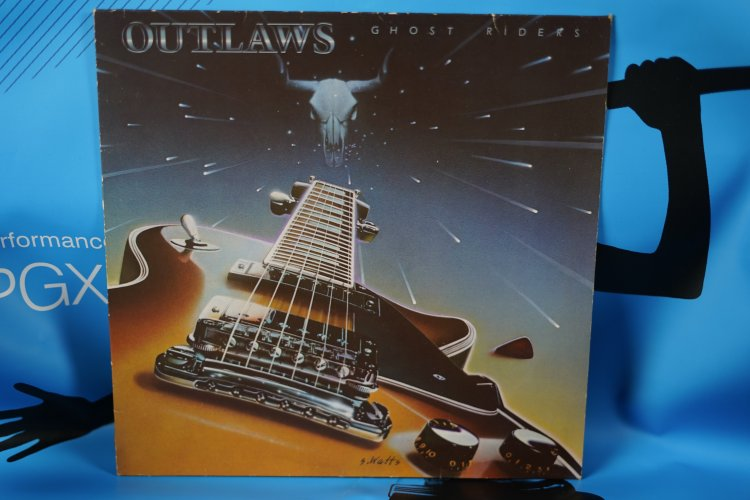 OUTLAWS GHOST RIDERS GERMAN ISSUE LP 203 108