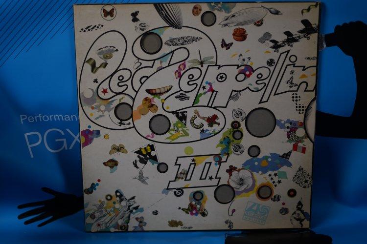 Led Zeppelin III Label: Atlantic  2401-002,Vinyl, LP, Album,