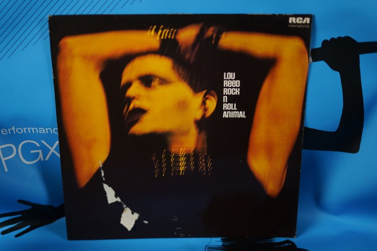 LOU REED Vinyl LP Rock N Roll Animal 1974 RCA NI83664