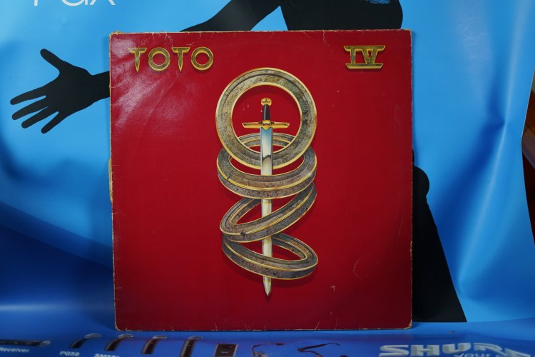 Toto 4 CBS 85529  1982 Made in Holland