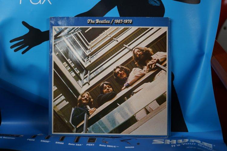LP The Beatles ~ 1967-1970 'Blue Album  Dutch PressS1A 184-05310