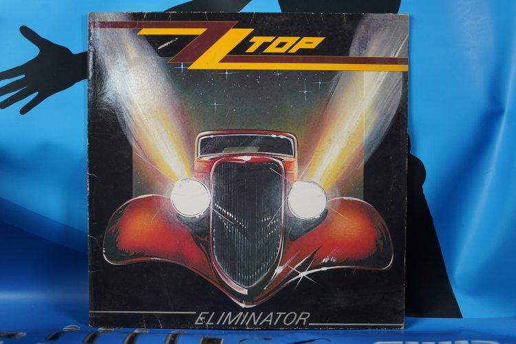 ZZ Top Eliminator 9237741 made in Germany 1983