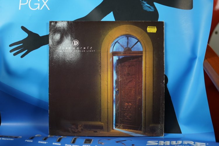 Deep Purple House of the blue light  8313181 made in West Germany