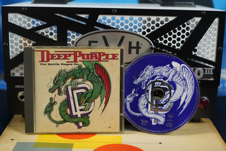 Deep Purple - the Battle Rages On 74321 15420 2 Printed in Germany 1993