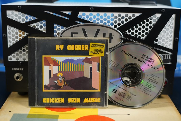 Ry Cooder -Chicken Skin Music 7599-27231-2 Made in Germany 1976