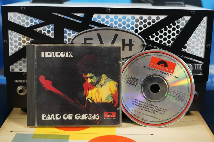 Hendrix - Band of Gypsys 821933-2 Made in Germany 1970