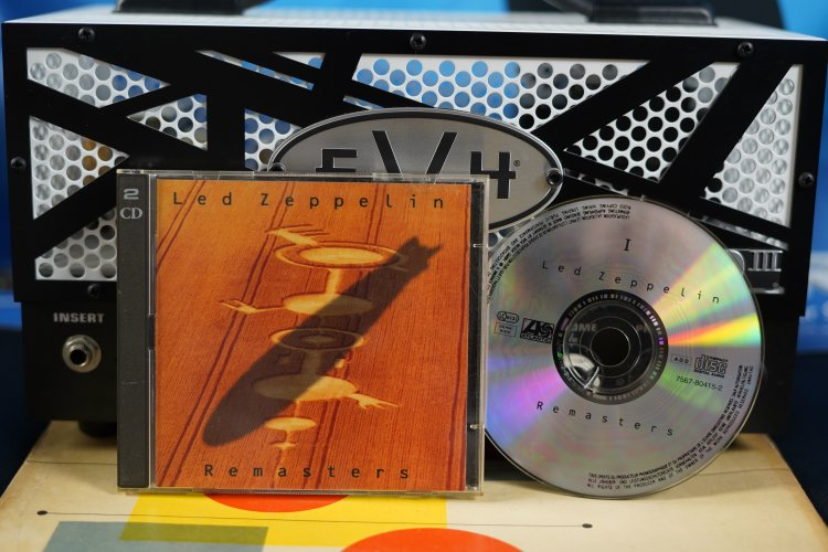 Led Zeppelin - Remasters 7567-80415-2 Made in  Germany 1990