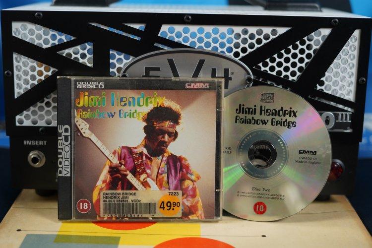 Jimi Hendrix - Rainbow Bridge CCM DD 121 Made in England 1995