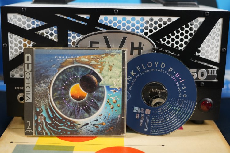 Pink Floyd - Pulse 4914452 Made in England 1995