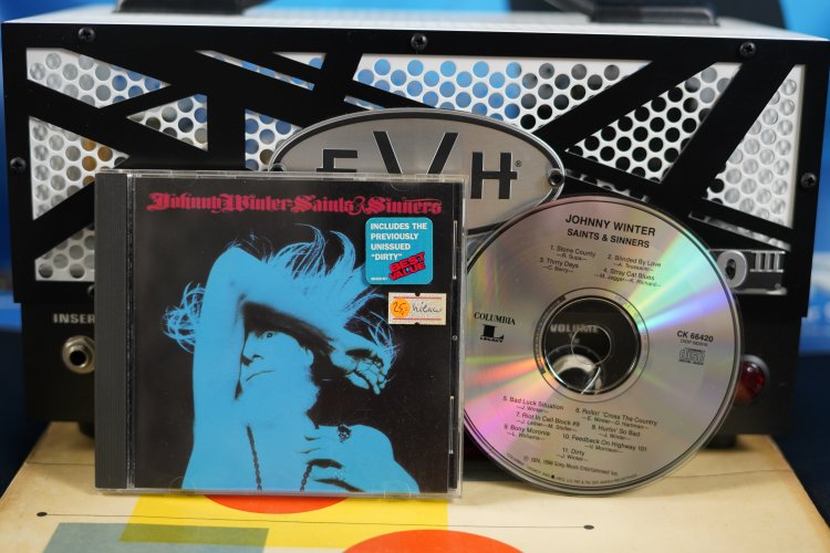 Johnny Winter Saints Sinners CK 66420 Made in the US 1974