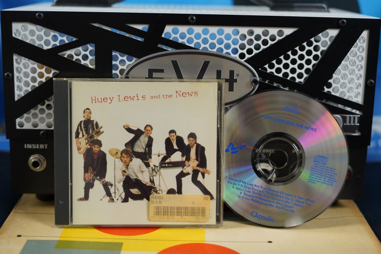 Huey Lewis And The News 41292 Made in Canada 1980