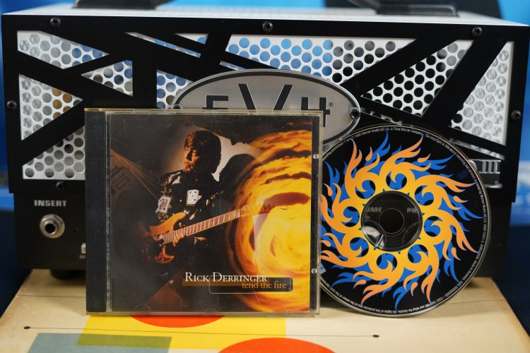 Rick Derringer - Tend the Fire 0630-15341-2  Made in Germany  1996