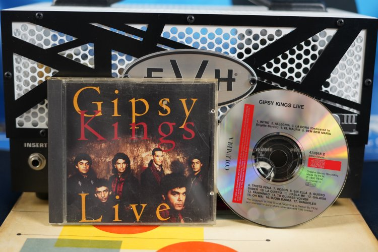 Gipsy Kings - Live 472648 2 Made by P.E.M. 1992