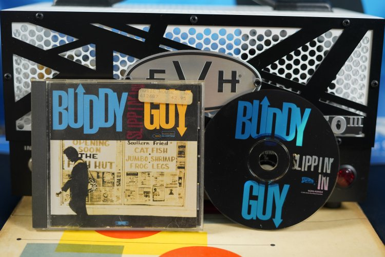Buddy Guy Slippin' in 0124141542-2 Made in the US 1994