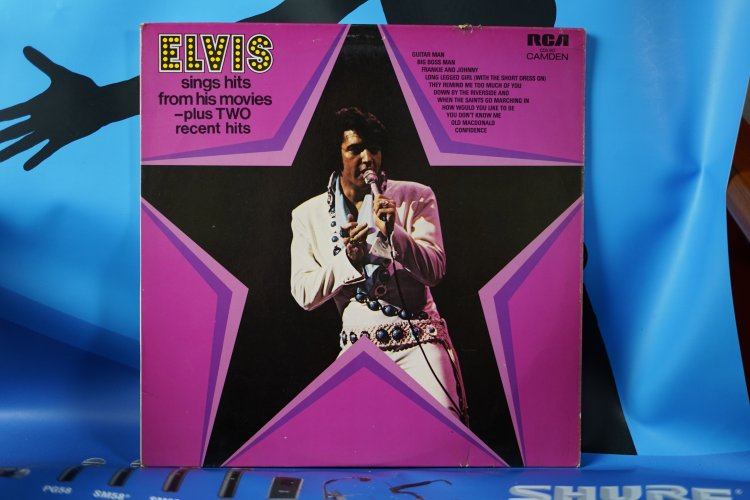 Elvis   Sings hits from his Movies CDS1110  1972 RCA records