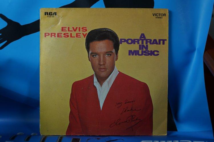 Elvis Presley   A Portrait in Music SRS 558 Victor. Gema