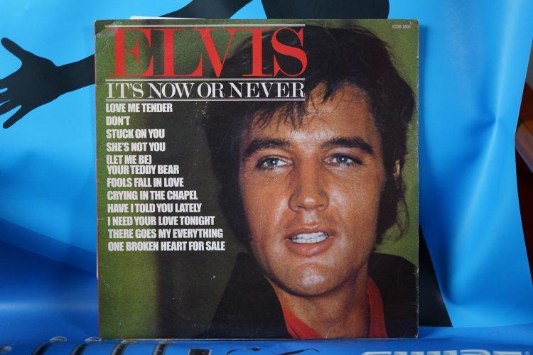 Elvis Presley  LP: It's now or never  (UK; Camden ?CDS 1203)