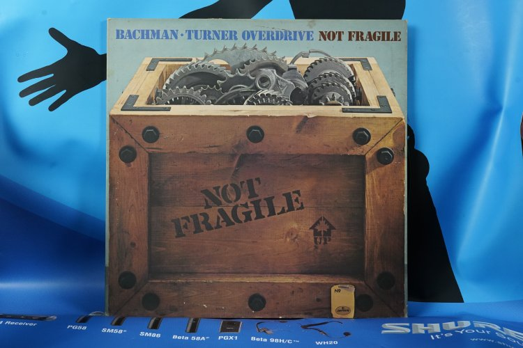 Bachman Tuner Overdrive   Fragile MERCURY  9100007 made in England
